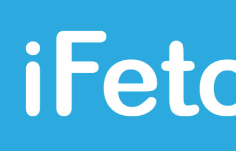 iFetch Logo (Reverse)